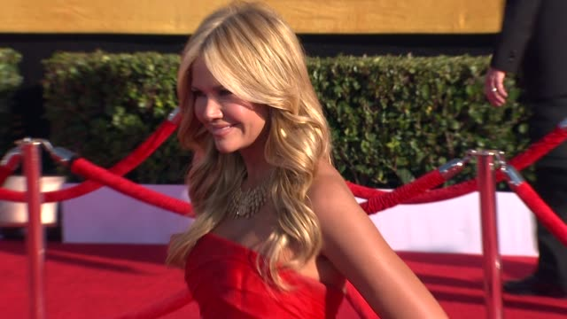 Nancy O' Dell at 18th Annual Screen Actors Guild Awards Arrivals on 1/29/2012 in Los Angeles CA