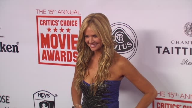 Nancy O'Dell at the 15th Annual Critics' Choice Movie Awards AfterParty at Hollywood CA