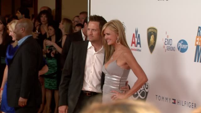 nancy o'dell at the 16th annual race to erase themed 'rock to erase at los angeles ca. - レーストゥイレースms点の映像素材/bロール