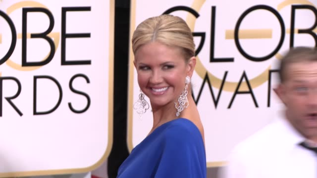 Nancy O'Dell at the 72nd Annual Golden Globe Awards Arrivals at The Beverly Hilton Hotel on January 11 2015 in Beverly Hills California