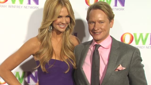 Nancy O'Dell Carson Kressley at the OWN Oprah Winfrey Network Launch Cocktail Reception For The Television Critics Association Winter Press Tour at...