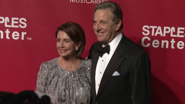 nancy pelosi at the 2016 musicares person of the year honoring lionel richie at los angeles convention center on february 13 2016 in los angeles... - lionel richie stock videos & royalty-free footage