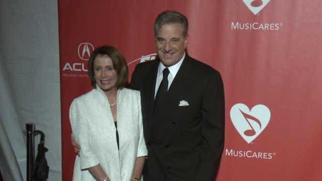 Nancy Pelosi Paul Pelosi at MusiCares Person of the Year Honoring Tom Petty in Los Angeles CA