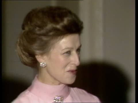 nancy reagan host dinner party england london us ambassador's residence zoom in nancy reagan and ambassador john j louis jnr and wife zoom in... - dinner lady stock videos & royalty-free footage