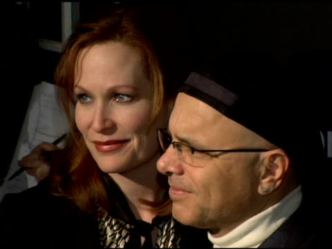 nancy sheppard and joe pantoliano at the entertainment weekly's viewing party for 2006 academy awards at elaine's in new york, new york on march 5,... - エンターテインメント・ウィークリー点の映像素材/bロール