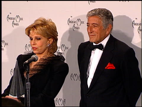 nancy sinatra at the 1998 american music awards at the shrine auditorium in los angeles california on january 26 1998 - nancy sinatra stock videos and b-roll footage