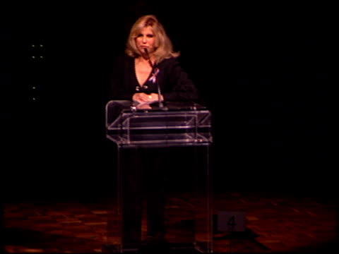 nancy sinatra at the thalians 46th annual ball at century plaza in century city, california on october 13, 2001. - century plaza stock videos & royalty-free footage
