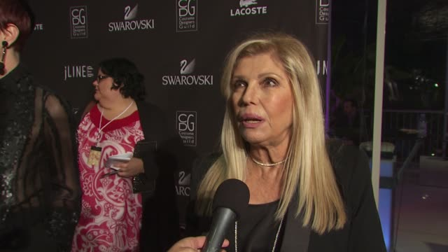 nancy sinatra on presenting tonight on how she knows michael travis on how big a role costume design plays to a performing singer and on if it was... - nancy sinatra stock videos and b-roll footage