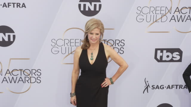 nancy travis at the 25th annual screen actors guild awards at the shrine auditorium on january 27 2019 in los angeles california - screen actors guild awards stock videos & royalty-free footage
