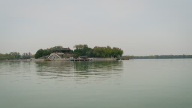 Nanhu Island on Kunming Lake at Summer Palace, Beijing, China