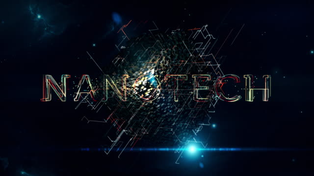 nanotech matrix cube - nanotechnology stock videos & royalty-free footage
