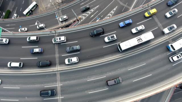 Nanpu bridge aerial highway junction