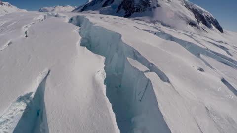 vídeos y material grabado en eventos de stock de nansen fjord collapse - antarctica