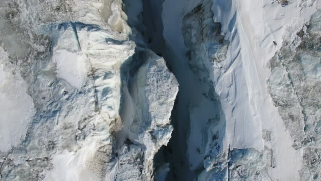 nansen fjord in antarctica collapse - antartide video stock e b–roll