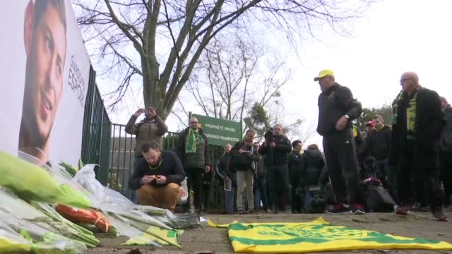 Nantes fans speak about warrior striker Emiliano Sala who is presumed dead after an airplaine in which he was travelling after signing for Premier...