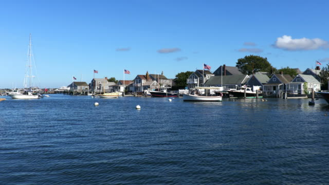 nantucket - waterfront stock videos & royalty-free footage