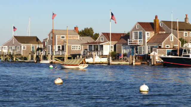 nantucket - massachusetts stock-videos und b-roll-filmmaterial