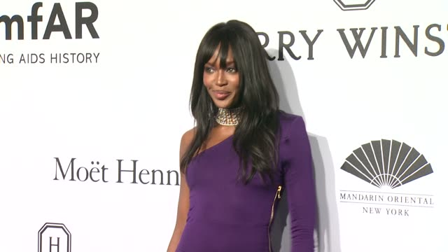 Naomi Campbell at 2015 amfAR New York Gala at Cipriani Wall Street on February 11 2015 in New York City