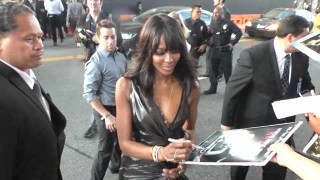 Naomi Campbell at FX's 'American Horror Story Hotel' premiere at Regal Cinemas LA LIVE at Celebrity Sightings in Los Angeles on October 03 2015 in...