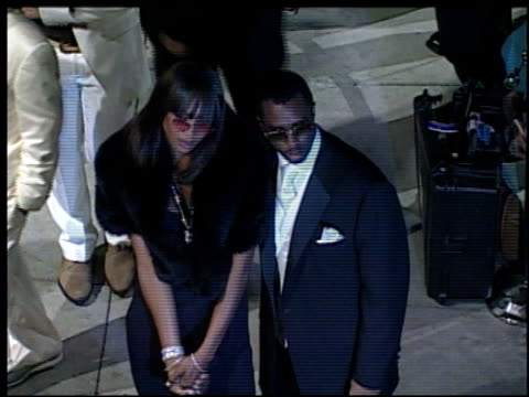 stockvideo's en b-roll-footage met naomi campbell at the 2002 academy awards vanity fair party at morton's in west hollywood california on march 24 2002 - naomi campbell
