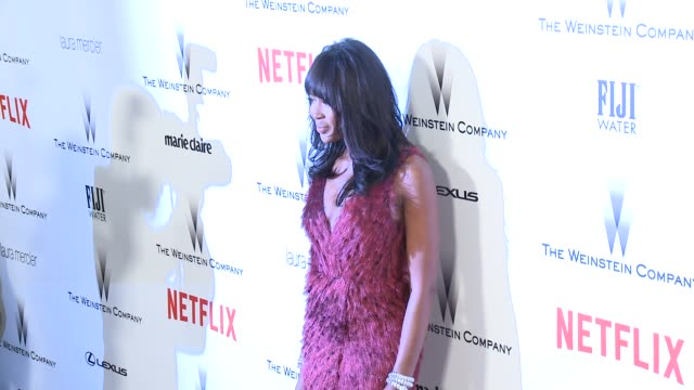 stockvideo's en b-roll-footage met naomi campbell at the 2015 weinstein company and netflix golden globe after party at robinsons may lot on january 11 2015 in beverly hills california - naomi campbell