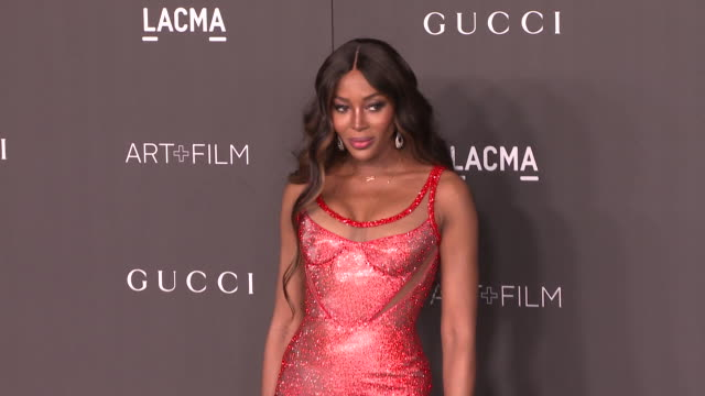 naomi campbell at the 2019 lacma artfilm gala honoring betye saar and alfonso cuaron and presented by gucci at lacma on november 02 2019 in los... - naomi campbell stock videos & royalty-free footage