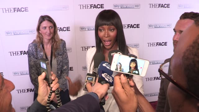 naomi campbell at the face qa at royal opera house on september 26 2013 in london england - naomi campbell stock videos & royalty-free footage