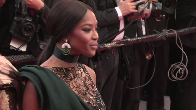 naomi campbell, michael madsen, michelle rodriguez, virginie ledoyen and more on the red carpet for the premiere of blackkklansman at the cannes film... - michael madsen stock videos & royalty-free footage