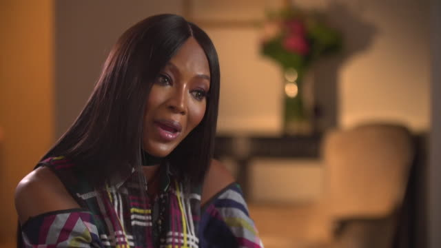naomi campbell saying sexual harassment appears to be a big problem in the fashion industry and it is going to get worse before it gets better - naomi campbell stock videos & royalty-free footage