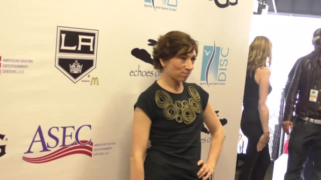 vídeos y material grabado en eventos de stock de naomi grossman at the luc robitaille celebrity shootout at toyota sports center in el segundo at celebrity sightings in los angeles on march 20 2016... - toyota sports center