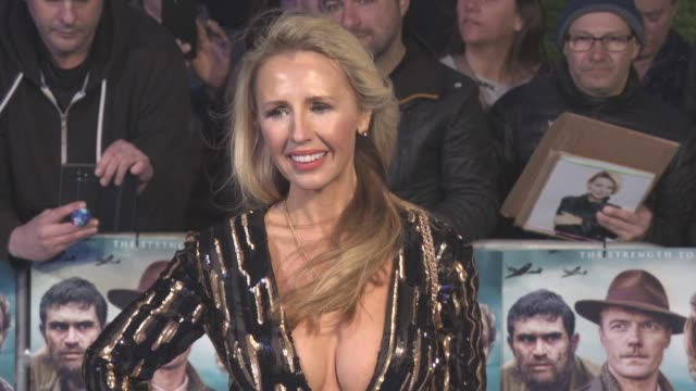 Naomi Isted at 'Another Mother's Son' World Premiere at Odeon Leicester Square on March 16 2017 in London England