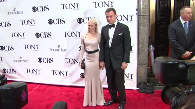 Naomi Watts and Liev Schreiber at the 64th Annual Tony Awards at New York NY