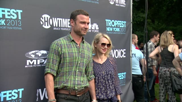 Naomi Watts and Liev Schreiber at Tropfest New York 2013 In Brooklyn's Prospect Park on June 22 2013 in Brooklyn's Prospect Park New York New York