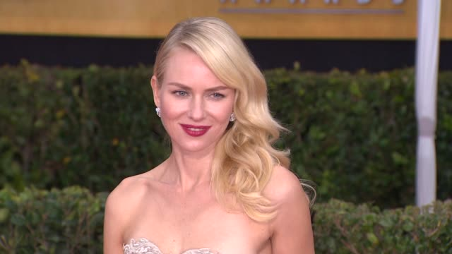 naomi watts at 19th annual screen actors guild awards - arrivals on 1/27/13 in los angeles, ca . - screen actors guild awards stock-videos und b-roll-filmmaterial