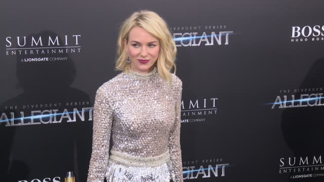 Naomi Watts at Allegiant New York Premiere at AMC Loews Lincoln Square 13 theater on March 14 2016 in New York City