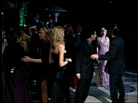 naomi watts at the 2002 academy awards vanity fair party at morton's in west hollywood california on march 24 2002 - オスカーパーティー点の映像素材/bロール