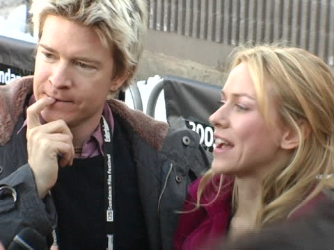 naomi watts at the 2005 sundance film festival ellie parker premiere at racket club theater in park city, utah. - park city stock videos & royalty-free footage