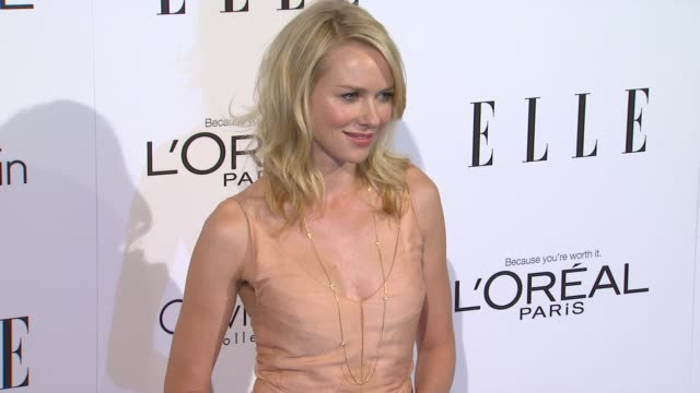 Naomi Watts at the ELLE's 18th Annual Women in Hollywood Tribute at Beverly Hills CA