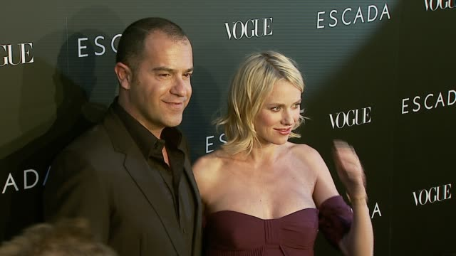 naomi watts at the the grand opening of the beverly hills flagship boutique celebrated by escada hilary swank and vogue at escada in beverly hills... - escada stock videos & royalty-free footage