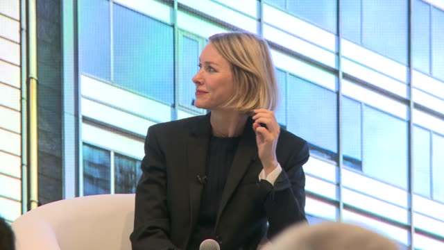 naomi watts inaugurates eugin clinique in barcelona - human fertility stock videos & royalty-free footage