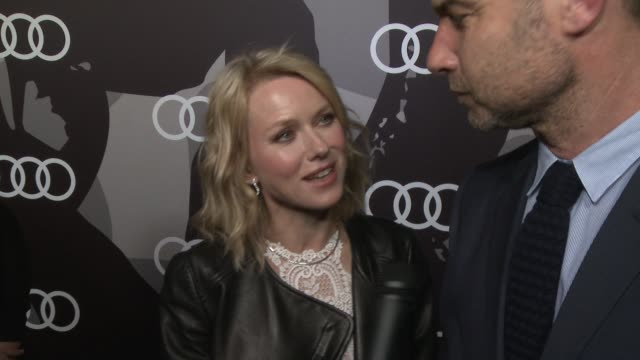 INTERVIEW Naomi Watts Liev Schreiber on being a part of the night when Liev was when he got the news of his nomination how they've been preparing for...