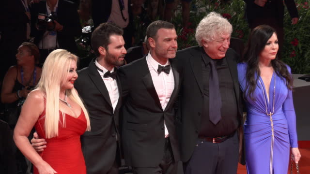 naomi watts liev schreiber philippe falardeau at 'the bleeder' red carpet 73rd venice film festival at palazzo del cinema on september 02 2016 in... - mark watts stock videos & royalty-free footage