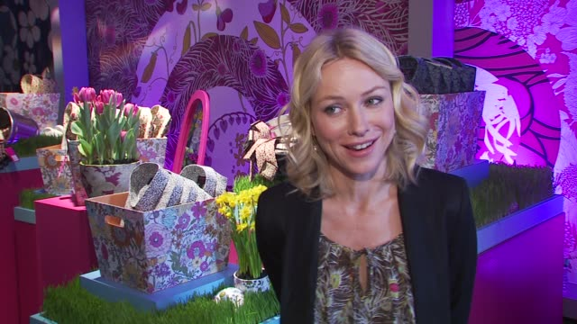 Naomi Watts on shopping at Target at the Liberty Of London For Target Experience Shopping Event at New York NY