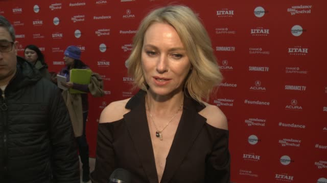 INTERVIEW Naomi Watts on the changing perspective of the Hamlet story reflecting current society the 'Ophelia' Premiere 2018 Sundance Film Festival...