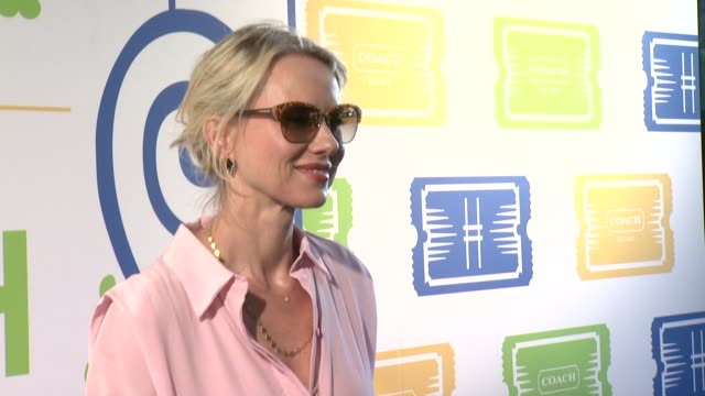 INTERVIEW Naomi Watts says she's been a fan of Coach for years on feeling a sense of pride when on the High Line on her summer essential at Summer...