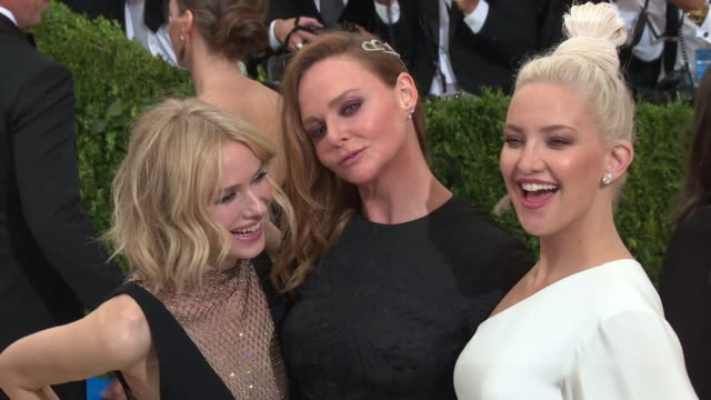 Naomi Watts Stella McCartney and Kate Hudson at Rei Kawakubo/Comme des Garcons Art Of The InBetween Costume Institute Gala Arrivals at The...