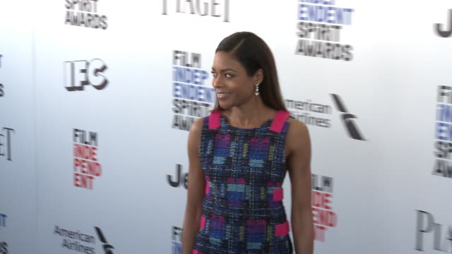 Naomie Harris at the 2017 Film Independent Spirit Awards Arrivals on February 25 2017 in Santa Monica California