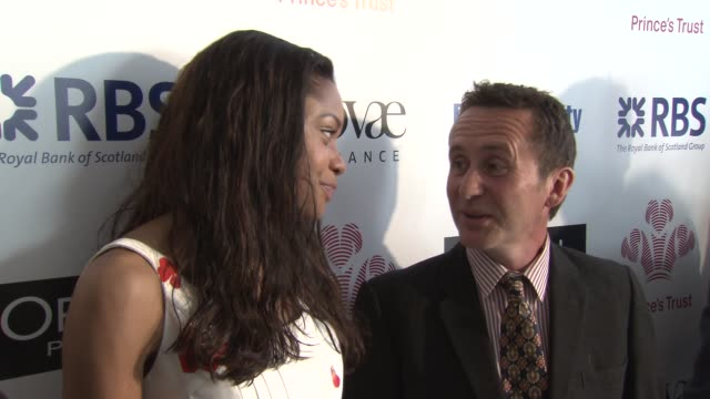 naomie harris bruce parry at the the prince's trust celebrate success awards arrivals at london england - bruce stock videos & royalty-free footage