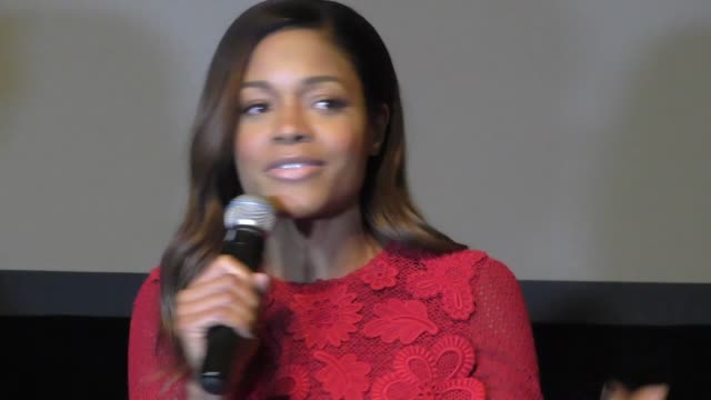 interview naomie harris on being a bond girl at the spectre the black women of bond tribute at california african american museum on 11/3/2015 in los... - bond girl fictional character stock videos & royalty-free footage