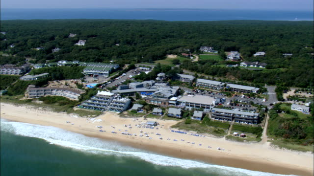 Napeague Coastline   - Aerial View - New York, Suffolk County, United States